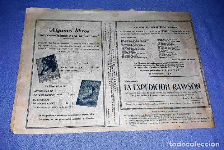 Tebeos: NIDO DE DESTRUCCION JORGE Y FERNANDO ORIGINAL HISPANO AMERICANA VER FOTOS Y DESCRIPCION - Foto 2 - 150575510