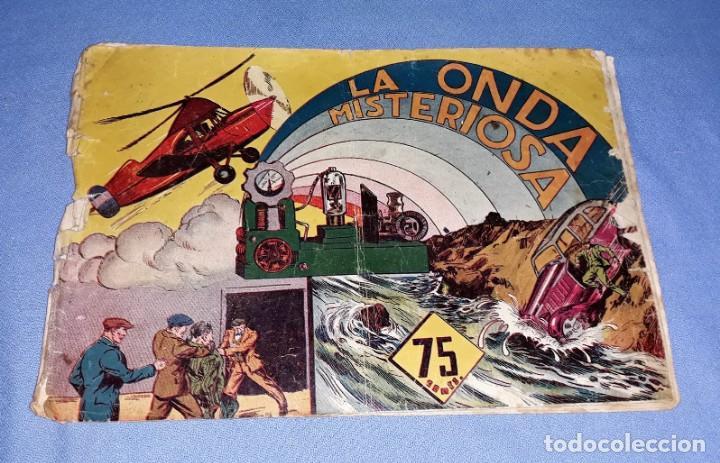 LA ONDA MISTERIOSA ORIGINAL HISPANO AMERICANA VER FOTOS Y DESCRIPCION (Tebeos y Comics - Hispano Americana - Otros)