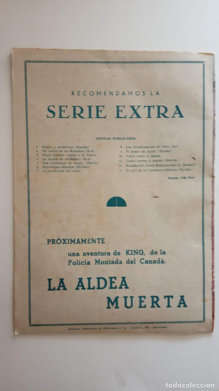 Tebeos: SERIE EXTRA ORIGINAL Nº 13 - TARZAN - EDI. HISPANO AMERICANA 1950 - HOGARTH - MUY BUEN ESTADO - HU - Foto 2 - 150846394