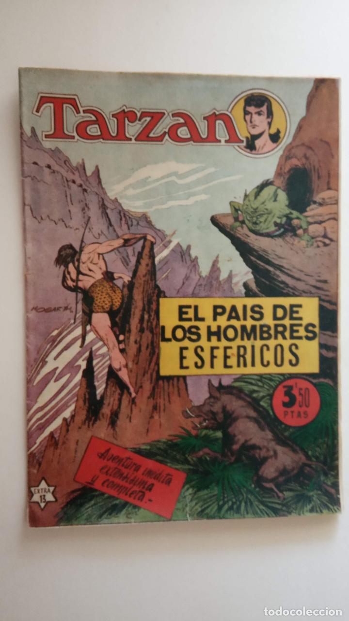 Tebeos: SERIE EXTRA ORIGINAL Nº 13 - TARZAN - EDI. HISPANO AMERICANA 1950 - HOGARTH - MUY BUEN ESTADO - HU - Foto 3 - 150846394