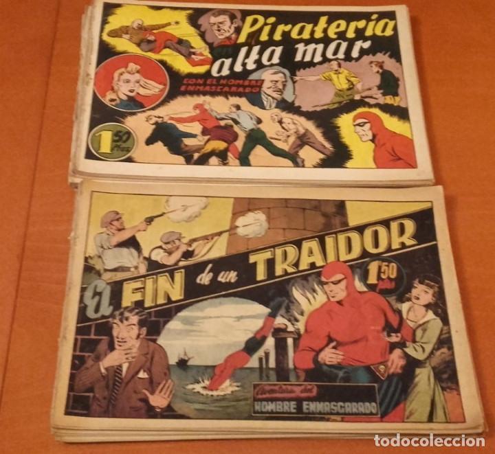EL HOMBRE ENMASCARADO HISPANO AMERICANA DE EDICIONES LOTE DE 42 Nº. (Tebeos y Comics - Hispano Americana - Hombre Enmascarado)
