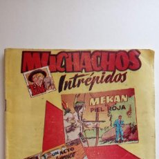 Tebeos: MUCHACHOS INTRÉPIDOS TIM ORIGINAL Nº 9 - HIEPANO AMERICANA 1956 - HU. Lote 151031206