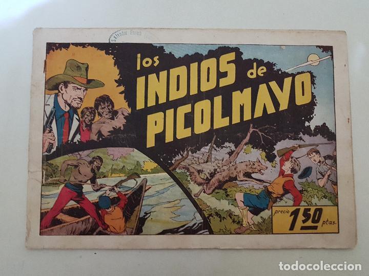 LOS INDIOS DE PICOLMAYO. JUAN Y LUIS. Nº 8. HISPANO AMERICANA. ORIGINAL. (Tebeos y Comics - Hispano Americana - Otros)
