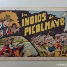 Tebeos: LOS INDIOS DE PICOLMAYO. JUAN Y LUIS. Nº 8. HISPANO AMERICANA. ORIGINAL.. Lote 151153554