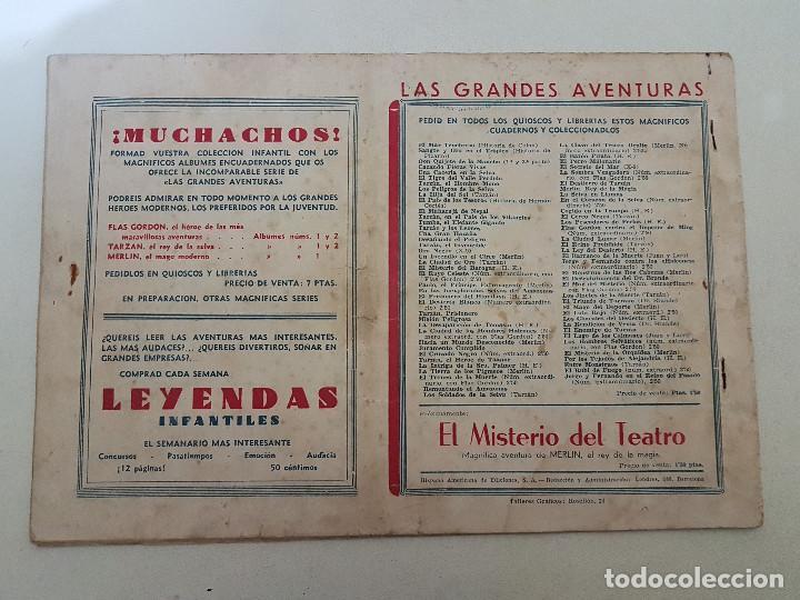Tebeos: Los indios de picolmayo. Juan y Luis. Nº 8. Hispano Americana. Original. - Foto 2 - 151153554