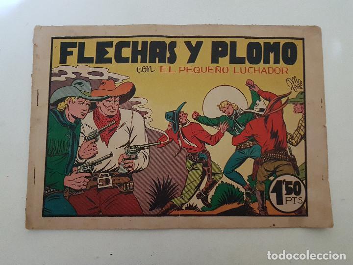 EL PEQUEÑO LUCHADOR. Nº 14. FLECHAS Y PLOMO. HISPANO AMERICANA. (Tebeos y Comics - Hispano Americana - Otros)