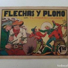 Tebeos: EL PEQUEÑO LUCHADOR. Nº 14. FLECHAS Y PLOMO. HISPANO AMERICANA.. Lote 151162278