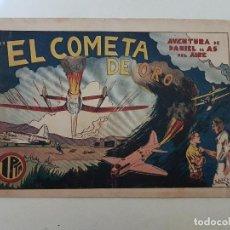 Tebeos: AVENTURA DE DANIEL EL AS DEL AIRE. EL COMETA DE ORO. HISPANO AMERICANA.. Lote 151162850