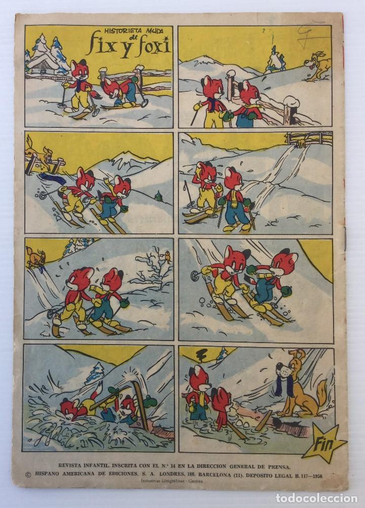 Tebeos: Revista Infantil Yumbo Nº 401 – Hispano Americana de Ediciones 1958 - Foto 2 - 154078081