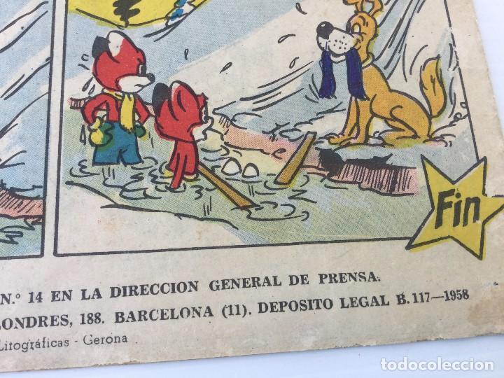 Tebeos: Revista Infantil Yumbo Nº 401 – Hispano Americana de Ediciones 1958 - Foto 3 - 154078081