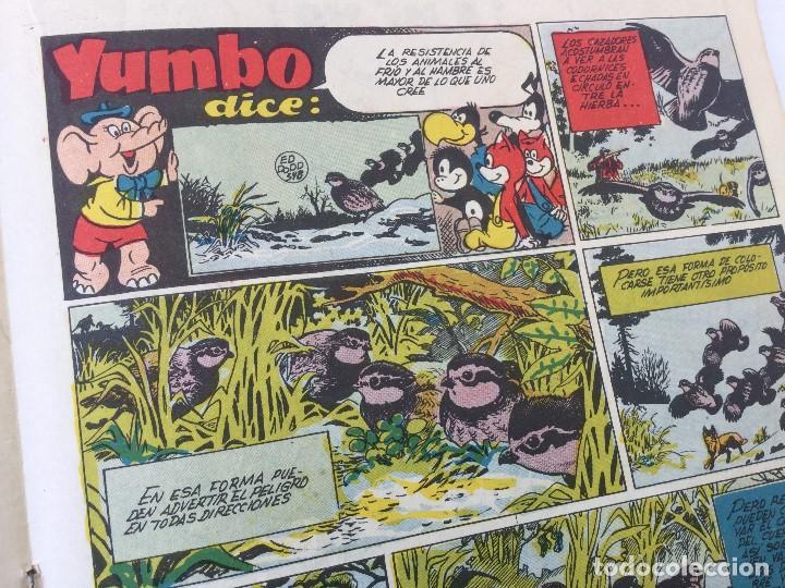 Tebeos: Revista Infantil Yumbo Nº 401 – Hispano Americana de Ediciones 1958 - Foto 11 - 154078081