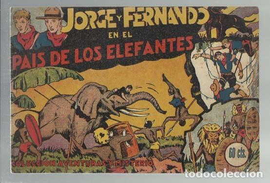 JORGE Y FERNANDO Nº 1, 1940, HISPANO AMERICANA, BUEN ESTADO (Tebeos y Comics - Hispano Americana - Jorge y Fernando)