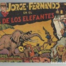 Tebeos: JORGE Y FERNANDO Nº 1, 1940, HISPANO AMERICANA, BUEN ESTADO. Lote 151722242