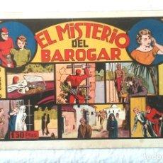 Tebeos: HOMBRE ENMASCARADO EL MISTERIO DE BAROGAR, HISPANO AMERICANA AÑO 43, ORIGINAL. Lote 152066230