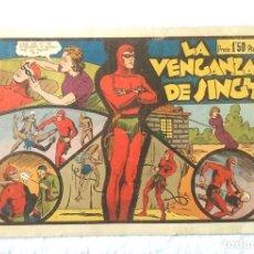 Tebeos: HOMBRE ENMASCARADO Nº 2 LA VENGANZA DE SINGH, HISPANO AMERICANA AÑO 43, ORIGINAL. Lote 152066246