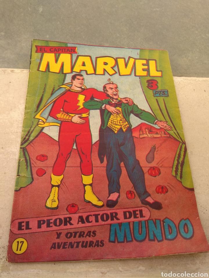 EL CAPITÁN MARVEL N°17 - EL PEOR ACTOR DEL MUNDO Y OTRAS AVENTURAS - (Tebeos y Comics - Hispano Americana - Capitán Marvel)