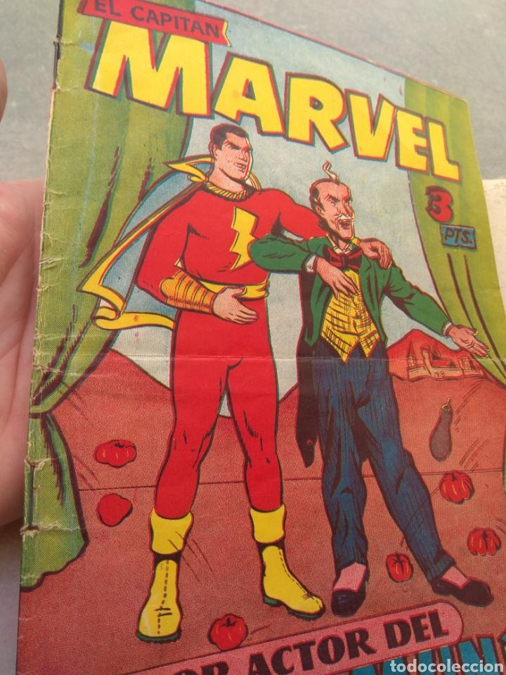 Tebeos: El Capitán Marvel N°17 - El Peor Actor del Mundo y otras aventuras - - Foto 2 - 152313869