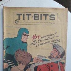 Tebeos: LA SOMBRA! - RARO EJEMPLAR DEL AÑO 1950 - TIT BITS N° 2160 - HISTORIETA ORIGINAL DE ARGENTINA. Lote 152518746