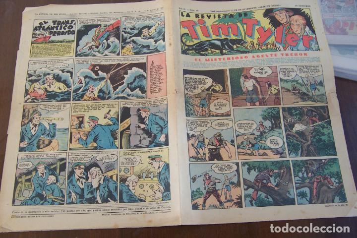 HISPANO AMERICANA,,TIM TYLER AÑOS 30 Nº 40- 41-42-45-46 (Tebeos y Comics - Hispano Americana - Tim Tyler)