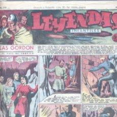 Tebeos: LEYENDAS INFANTILES Nº113 (FLASH GORDON, TARZÁN, DICK NORTON, INSPECTOR WADE...). Lote 153729454