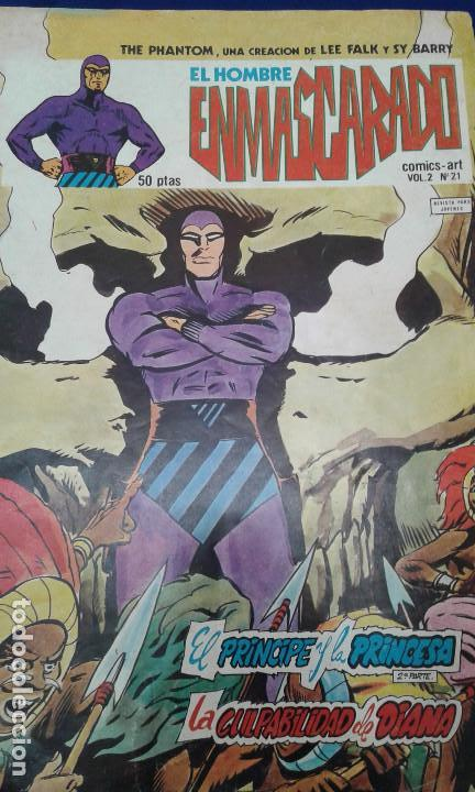 THE PHAMTOM (EL HOMBRE ENMASCARADO VOL2 (Tebeos y Comics - Hispano Americana - Hombre Enmascarado)