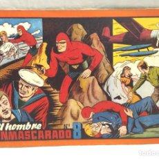 Tebeos: EL HOMBRE ENMASCARADO Nº 8 Y ÚLTIMO DE ALBUM ROJO HISPANO AMERICANA AÑO 1943, BUEN ESTADO. Lote 154059862