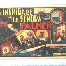 Tebeos: HOMBRE ENMASCARADO LA INTRIGA DE LA SEÑORA PALMER, HISPANO AMERICANA AÑO 43, ORIGINAL. Lote 154060478