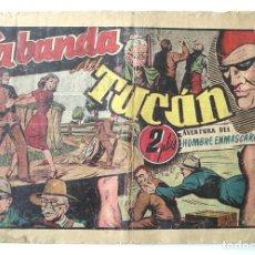 Tebeos: EL HOMBRE ENMASCARADO Nº 46 LA BANDA DEL TUCAN. Lote 154060766
