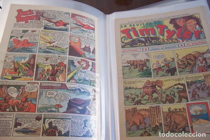 Tebeos: HISPANO AMERICANA., TIM TYLER DESDE EL Nº 1 SALIO 23-3-1936 AL 113 DE 9-6-1938 TERMINO. - Foto 2 - 154495070