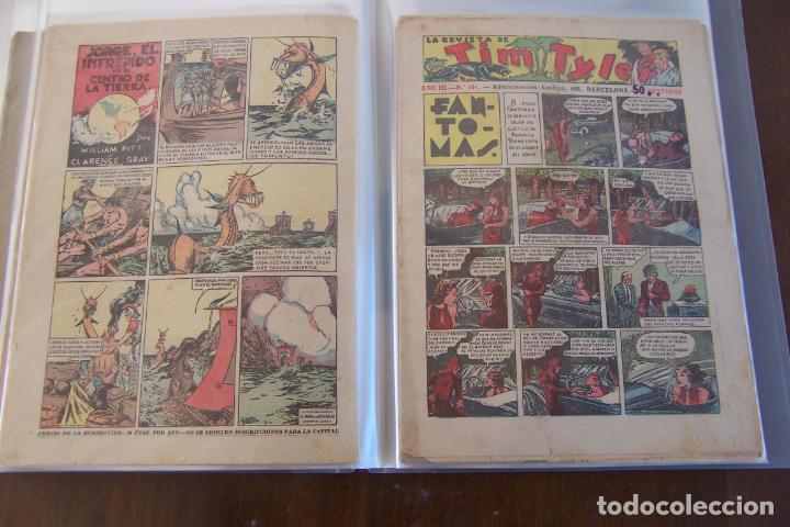 Tebeos: HISPANO AMERICANA., TIM TYLER DESDE EL Nº 1 SALIO 23-3-1936 AL 113 DE 9-6-1938 TERMINO. - Foto 13 - 154495070