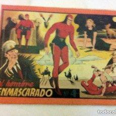 Tebeos: HOMBRE ENMASCARADO- ALBUM ROJO Nº. 4- COMPLETO - LOMO REPARADO. Lote 154515270