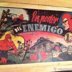 Tebeos: HOMBRE ENMASCARADO - EN PODER DEL ENEMIGO. Lote 154516762