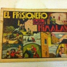 Tebeos: HOMBRE ENMASCARADO - EL PRISIONERO DEL HIMALAYA - SIN CROMOS -USADO. Lote 154517046