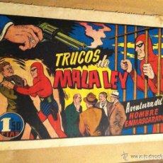 Tebeos: HOMBRE ENMASCARADO - TRUCOS DE MALA LEY. Lote 154517298