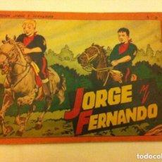 Tebeos: JORGE Y FERNANDO - ALBUM ROJO Nº. 4. Lote 154518110