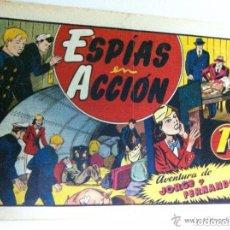 Tebeos: JORGE FERNANDO - ESPÍAS EN ACCIÓN -(MUY BIEN). Lote 154519174
