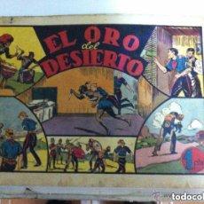 Tebeos: JORGE Y FERNANDO - EL ORO DEL DESIERTO (PORTADA SUELTA. Lote 154519646