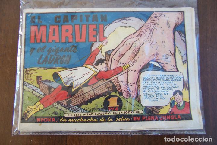 HISPANO AMERICANA,- EL CAPITÁN MARVEL Nº 5 EL GIGANTE LADRÓN (Tebeos y Comics - Hispano Americana - Capitán Marvel)