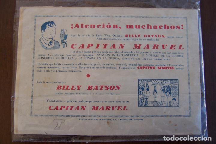 Tebeos: hispano americana,- el capitán marvel nº 5 el gigante ladrón - Foto 2 - 154530434