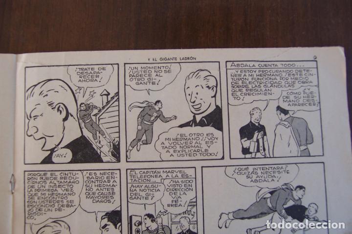 Tebeos: hispano americana,- el capitán marvel nº 5 el gigante ladrón - Foto 3 - 154530434