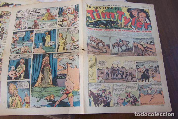 HISPANO AMERICANA,- TIM TYLER Nº 30-32-33-39 (Tebeos y Comics - Hispano Americana - Tim Tyler)
