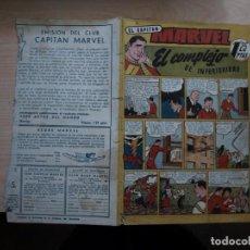Tebeos: EL CAPITAN MARVEL - NÚMERO 16 - PRECIO 1,25 PTAS. - ORIGINAL - HISPANO AMERICANA. Lote 154545882