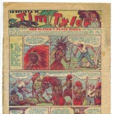 Tebeos: LA REVISTA DE TIM TYLER Nº 68 PORTADA Y CONTRAPORTADA CASI DESPRENDIDAS. Lote 155345750