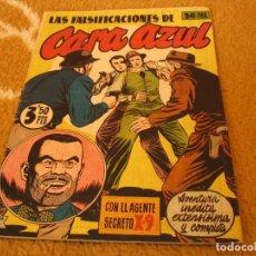 Tebeos: LAS FALSIFICACIONES DE CARA AZÚL AGENTE SECRETO X.9 ESPAÑA 1944. Lote 155376626