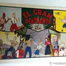 Tebeos: JORGE Y FERNANDO - EL GRAN DIAMANTE (MUY BIEN CONSERVADO). Lote 155500738