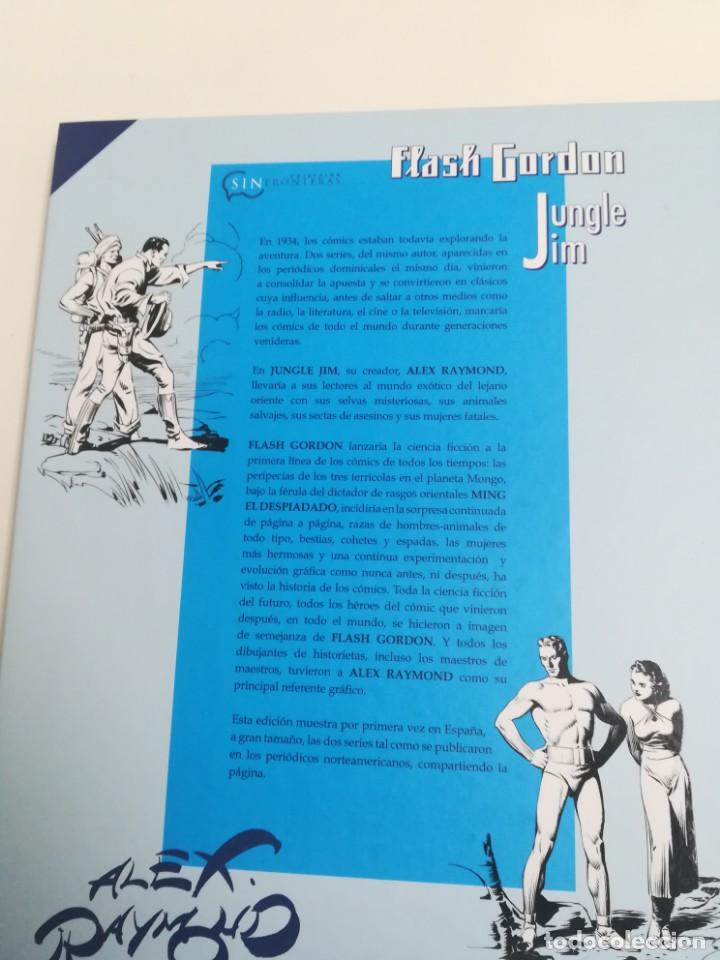 Comics: Cómic Flash Gordon & Jim de la Jungla. Alex Raymond. Editorial Dolmen 1934/35 - Foto 2 - 155679758
