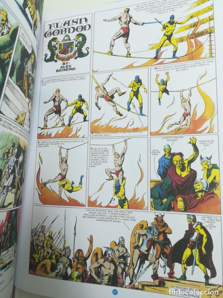 Comics: Cómic Flash Gordon & Jim de la Jungla. Alex Raymond. Editorial Dolmen 1934/35 - Foto 3 - 155679758