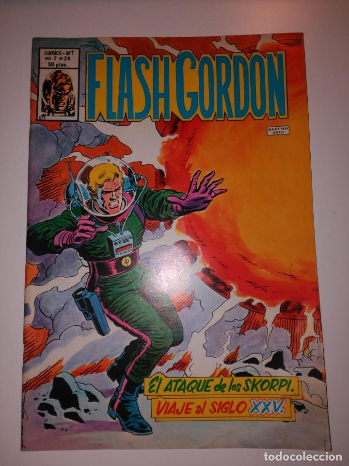 FLASH GORDON. EL ATAQUE DE LOS SKORPI. VIAJE AL SIGLO XXV. EDICIONES VERTICE. (Tebeos y Comics - Hispano Americana - Flash Gordon)