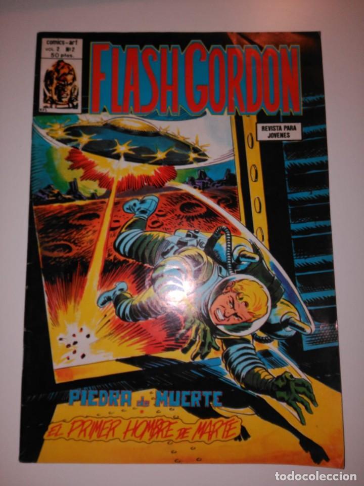 FLASH GORDON. PIEDRA DE MUERTE. VOL. 2 N. 2 (Tebeos y Comics - Hispano Americana - Flash Gordon)