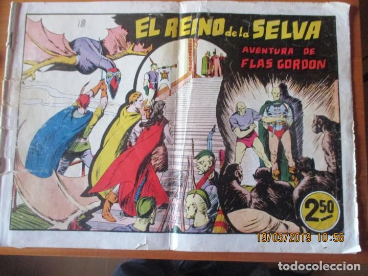 FLAS GORDON -GRANDES AVENTURAS DE 2,50 PTS -HISPANO AMERCANA -EL REINO DE LA SELVA (Tebeos y Comics - Hispano Americana - Flash Gordon)